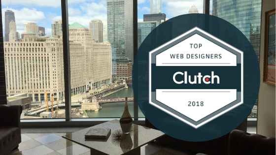 Ice Nine Online wins an award for top Chicago web designer by Clutch in 2018.