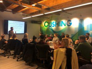 Matt Chiera's Digital Marketing 101 presentation at Cushing in Chicago in 2019.