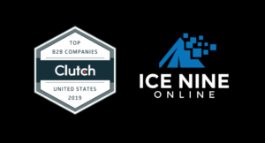 Ice Nine Online wins an award for Top B2B company in Illinois by Clutch.