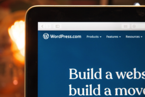 A screenshot of WordPress pulled up in a browser.